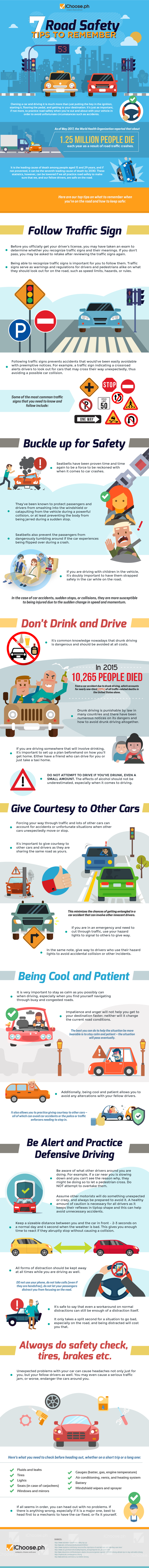 7 Road Safety Tips to Remember