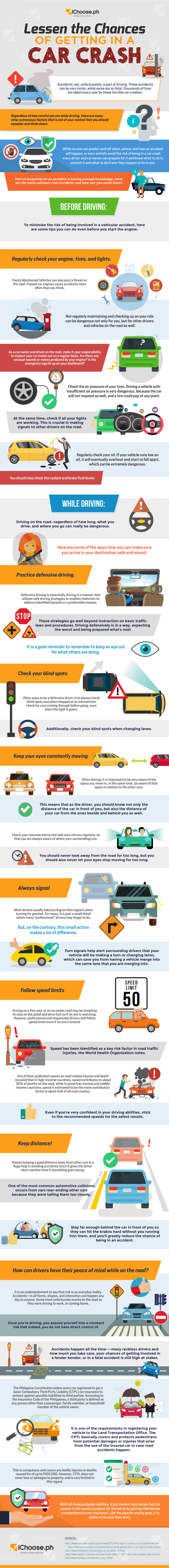Lessen The Chances Of Getting In A Car Crash