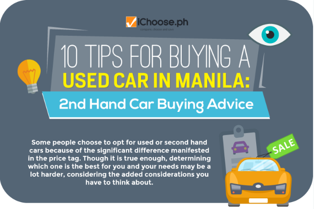 10 Tips for Buying A Used Car in Manila 2nd Hand Car Buying Advice featured image