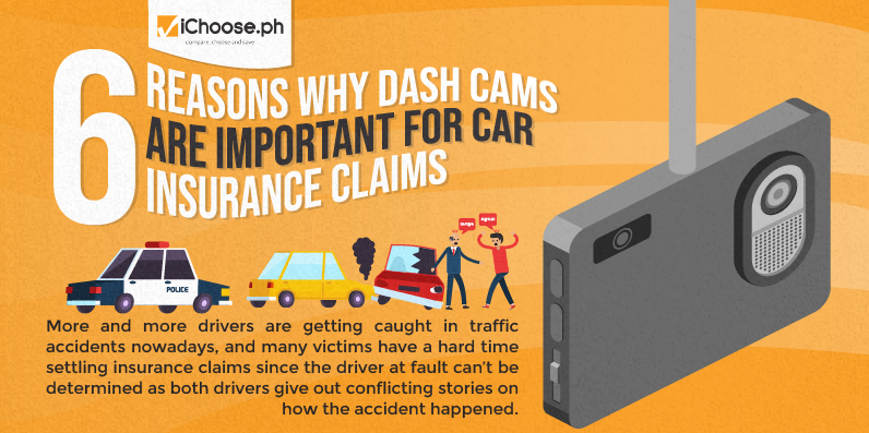 6 Reasons Why Dash Cams are Important for Car Insurance Claims-01