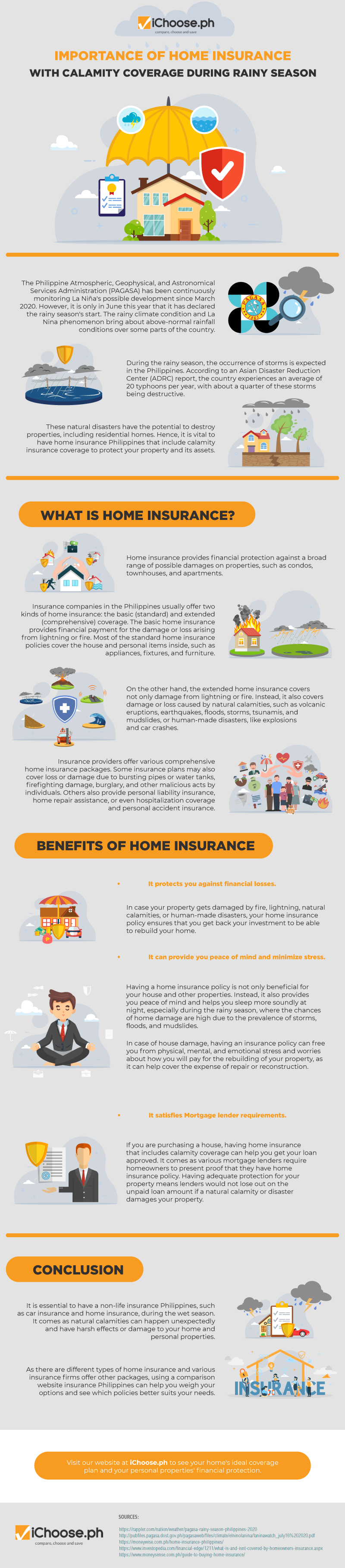 Importance-of-Home-Insurance-with-Calamity-Coverage-During-Rainy-Season infographic
