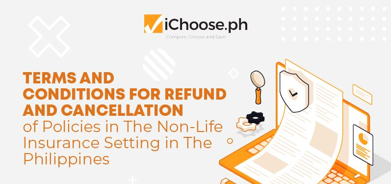 Terms and Conditions for Refund and Cancellation of Policies in The Non-Life Insurance Setting in The Philippines Infographic