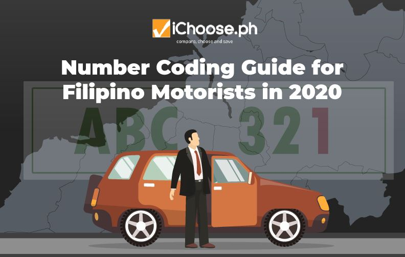 Number Coding Guide for Filipino Motorists in 2020 featured image ichoose