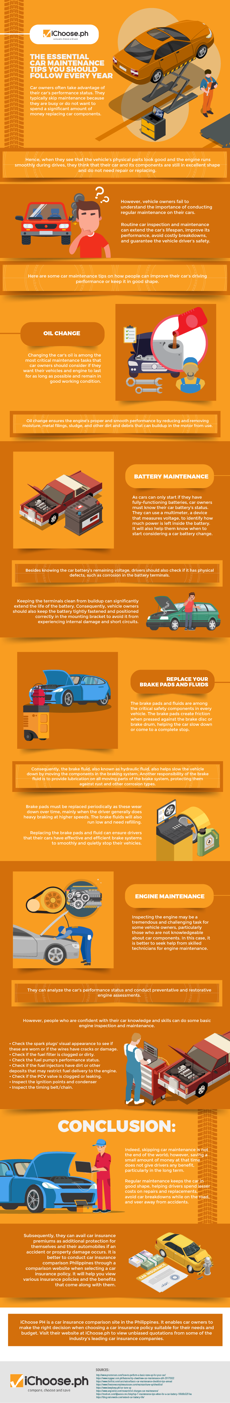 The Essential Car Maintenance Tips You Should Follow Every Year [Infographic]