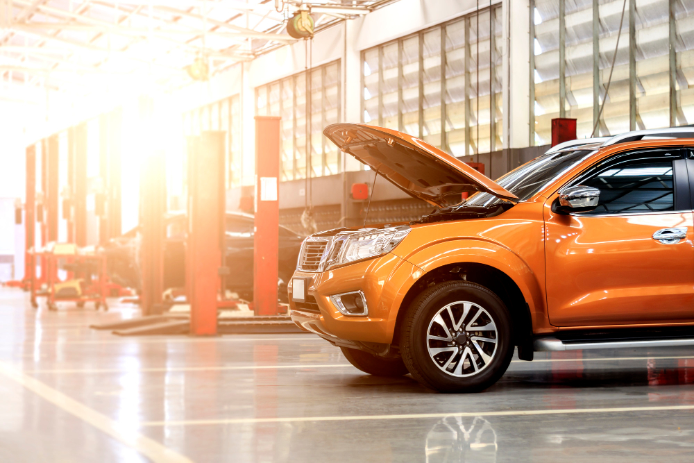 car-repair-station-with-soft-focus-background-light