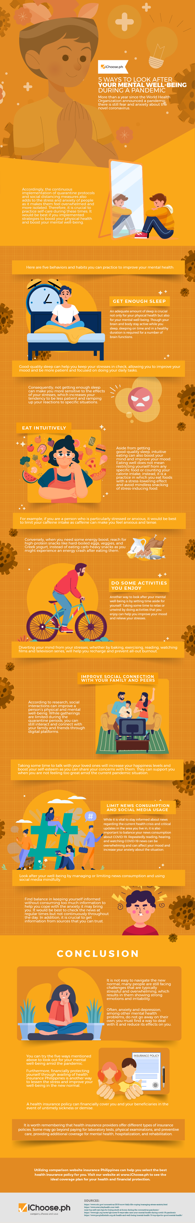 5-Ways-to-Look-After-Your-Mental-Well-Being-During-a-Pandemic-Infographic